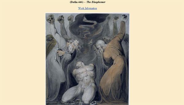 Blasphemer - Blake Archive